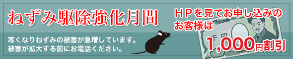 ネズミ割引
